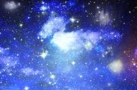 星空の下で….