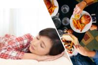 睡眠リズムと朝食・昼食・夕食